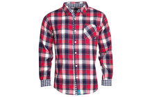 Chillaz Men's Axmen Shirt red glencheck